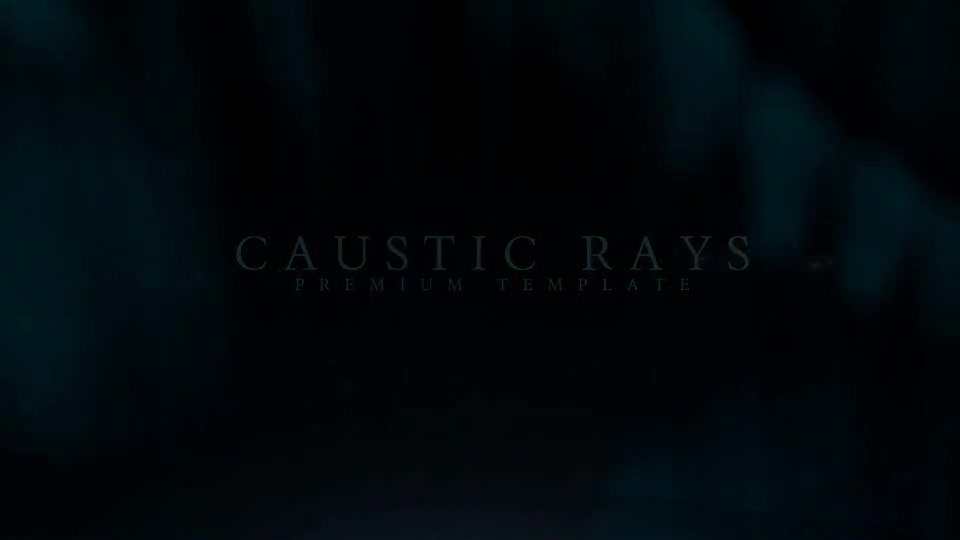 Caustic Rays Titles - Download Videohive 21949785