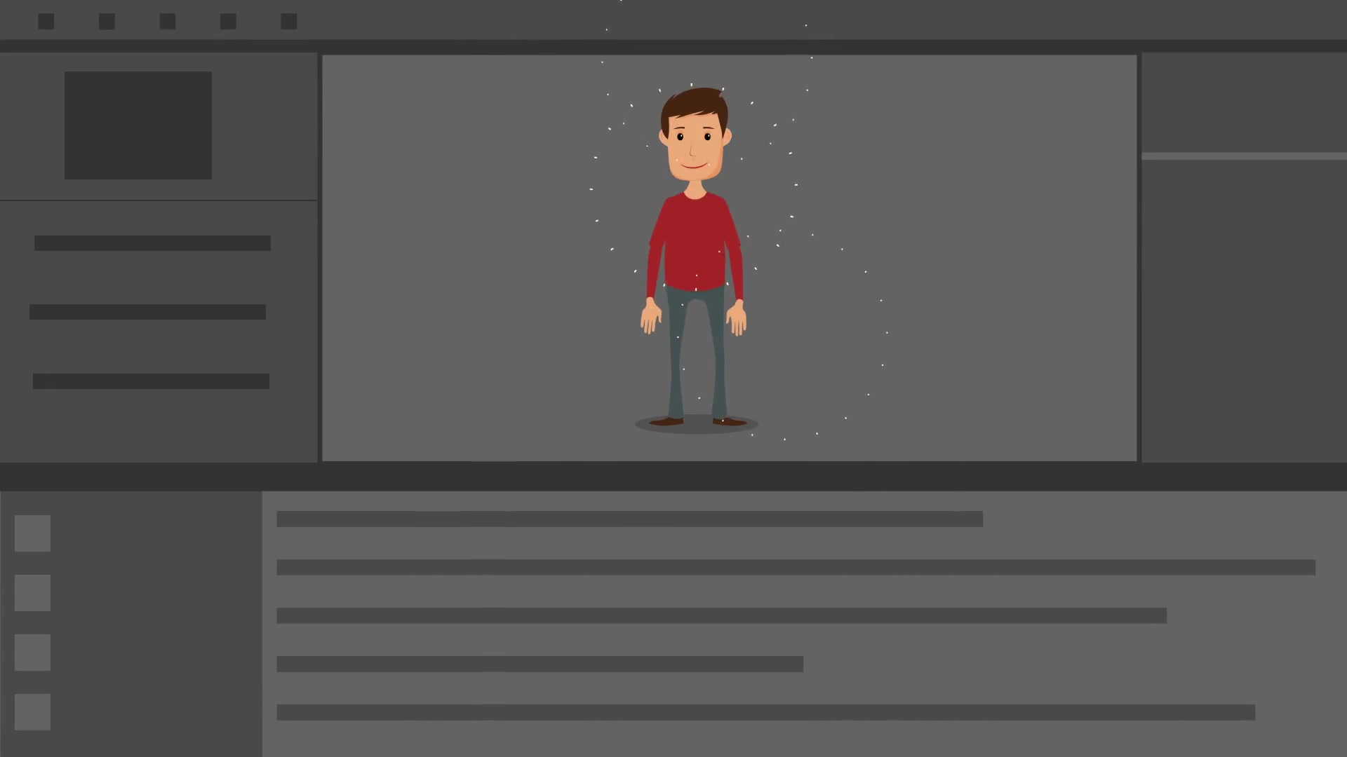 Character Design Animation Toolkit After Effects Project : Character animation composer explainer video toolkit