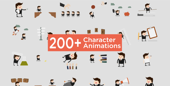 Character Animation Pack - Download Videohive 19319782