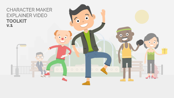 Character Maker Explainer Video Toolkit - Download Videohive 18731193