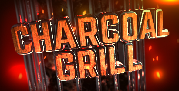 Charcoal Grill Logo Reveal - Download Videohive 14920424