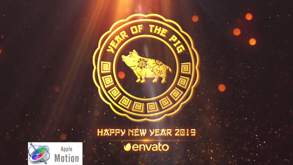Chinese New Year 2019 Apple Motion - Download Videohive 22663346
