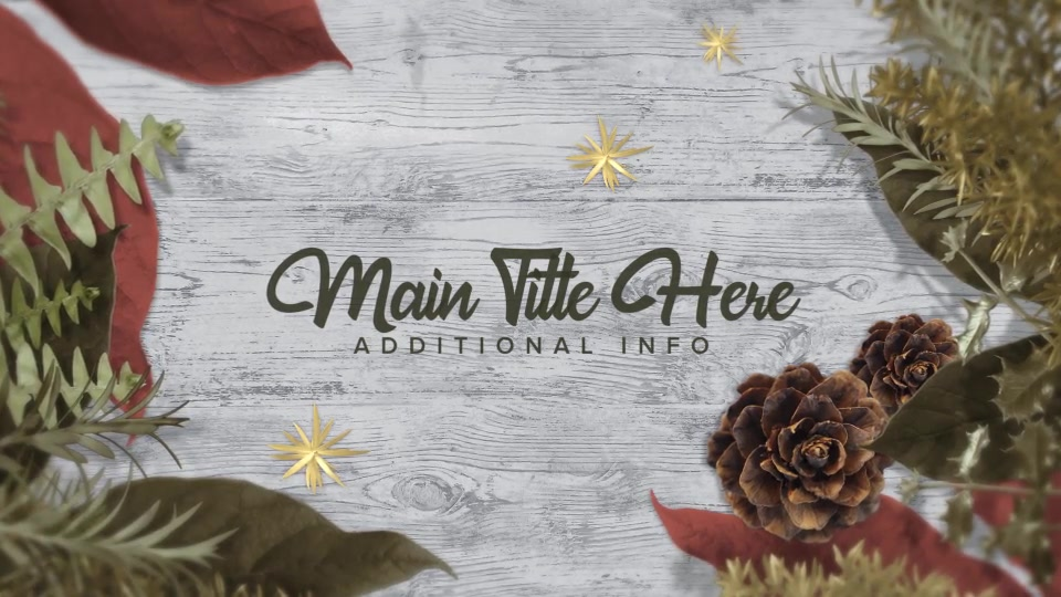 Christmas A Slideshow - Download Videohive 22705642
