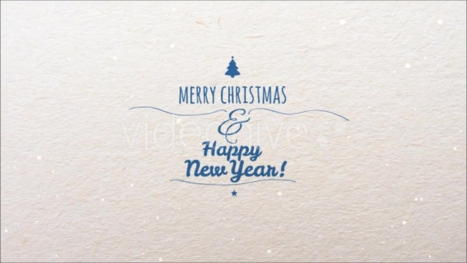 Christmas and New Year Video Card - Download Videohive 13375413