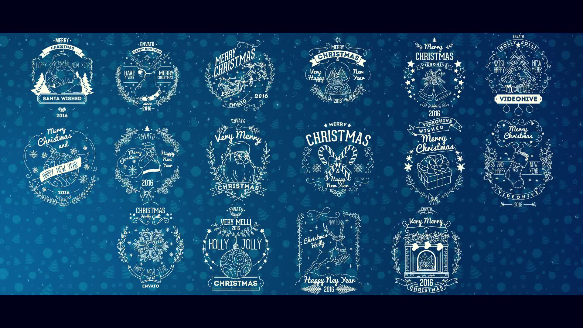 Christmas Badges - Download Videohive 13658746