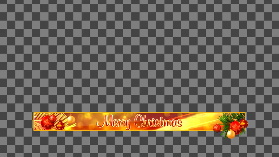 Christmas Banners Lowerthirds V1 - Download Videohive 6151045