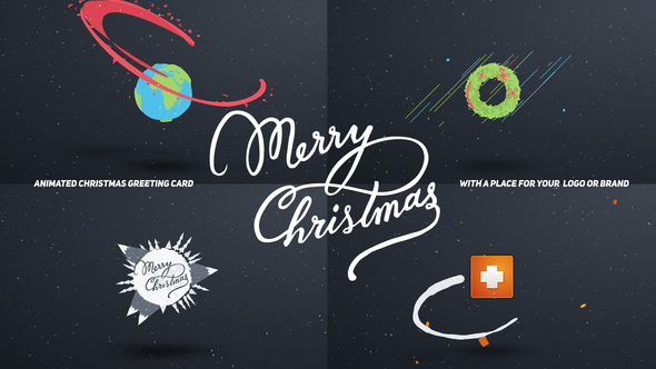 Christmas Card Cartoon - Download Videohive 13627459