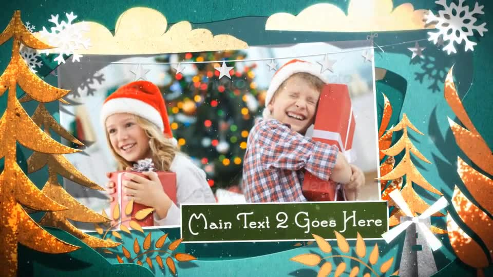 Christmas Cutouts - Download Videohive 9412528