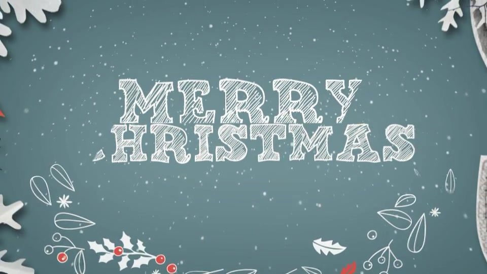 Christmas Greetings Fully Editable Text - Download Videohive 18876879