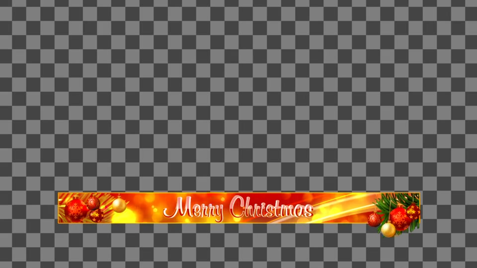 Christmas Lowerthirds and Banners Apple Motion - Download Videohive 18870326