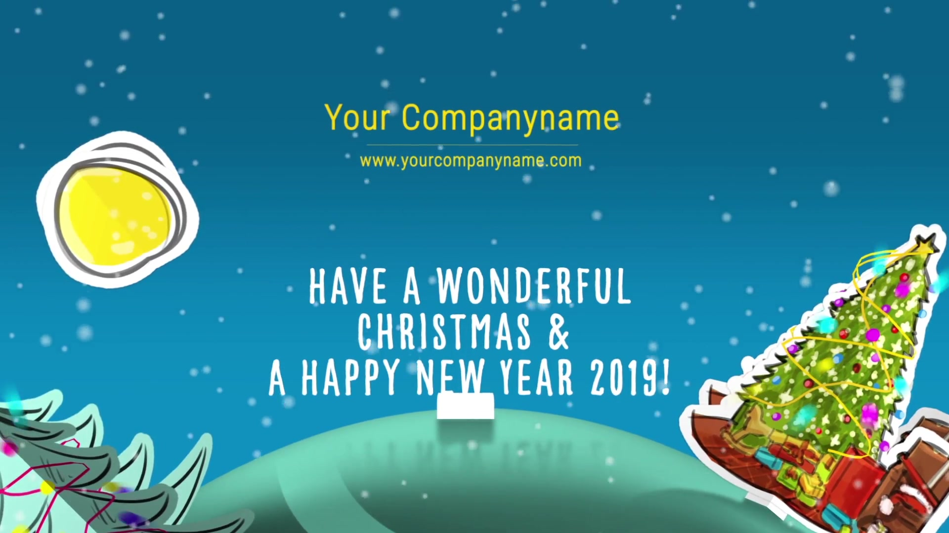 Christmas Paper World I Mogrt - Download Videohive 22985532