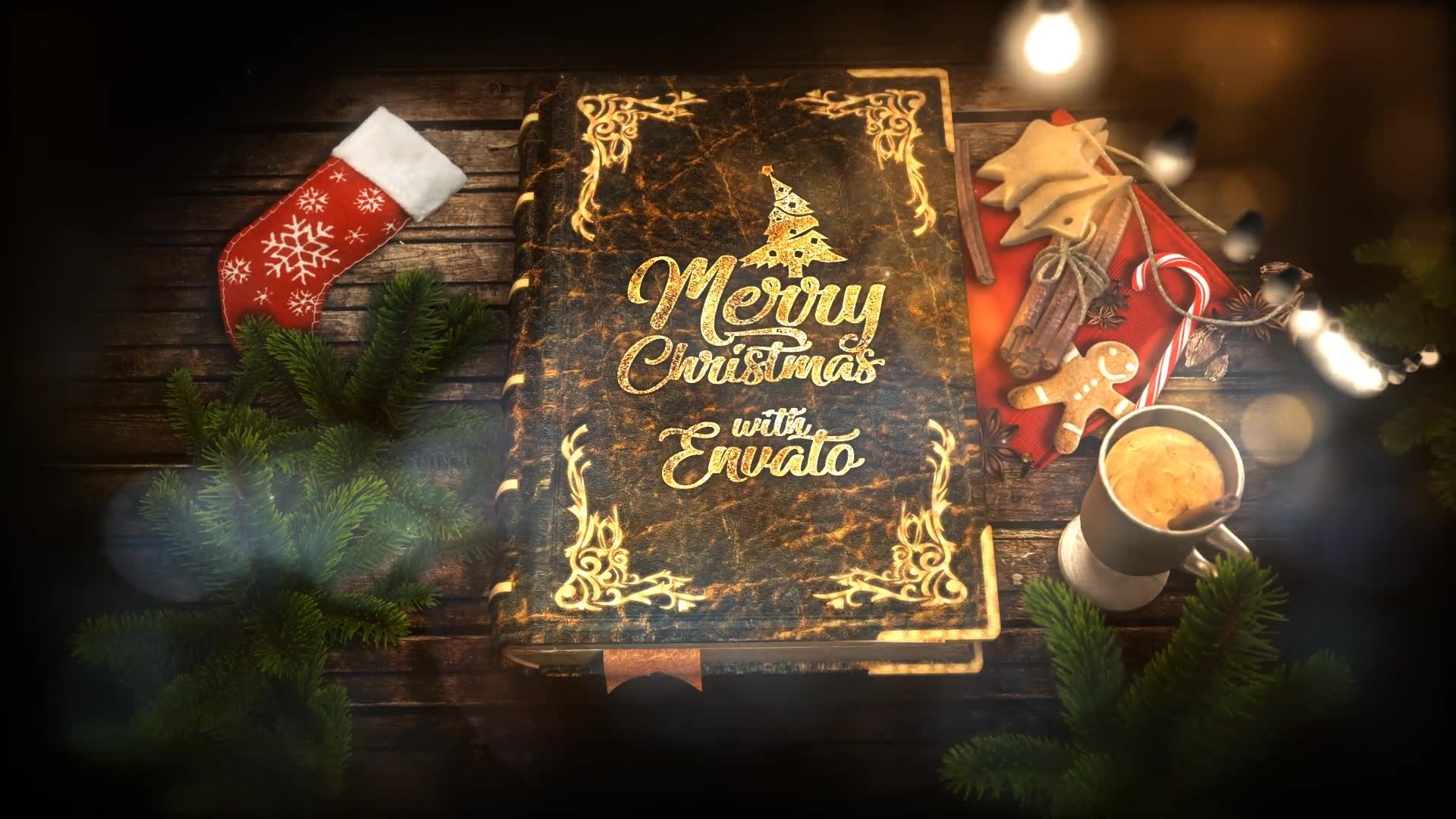 Christmas Pop Up Book - Download Videohive 22956981
