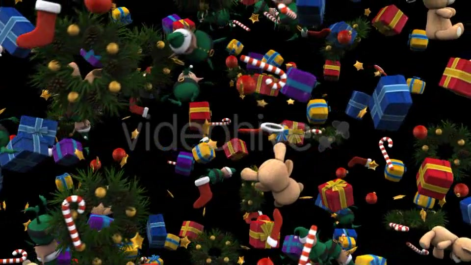 Christmas Presents Rain V2 - Download Videohive 14177159