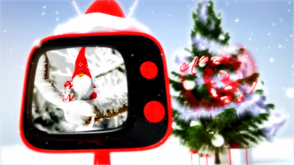 Christmas retro TV Videohive 806774 After Effects Image 4