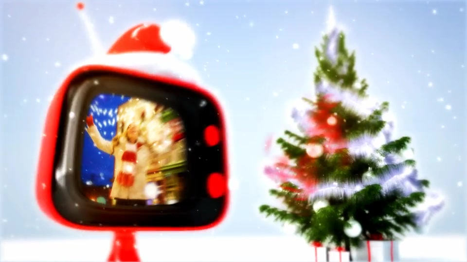 Christmas retro TV Videohive 806774 After Effects Image 7
