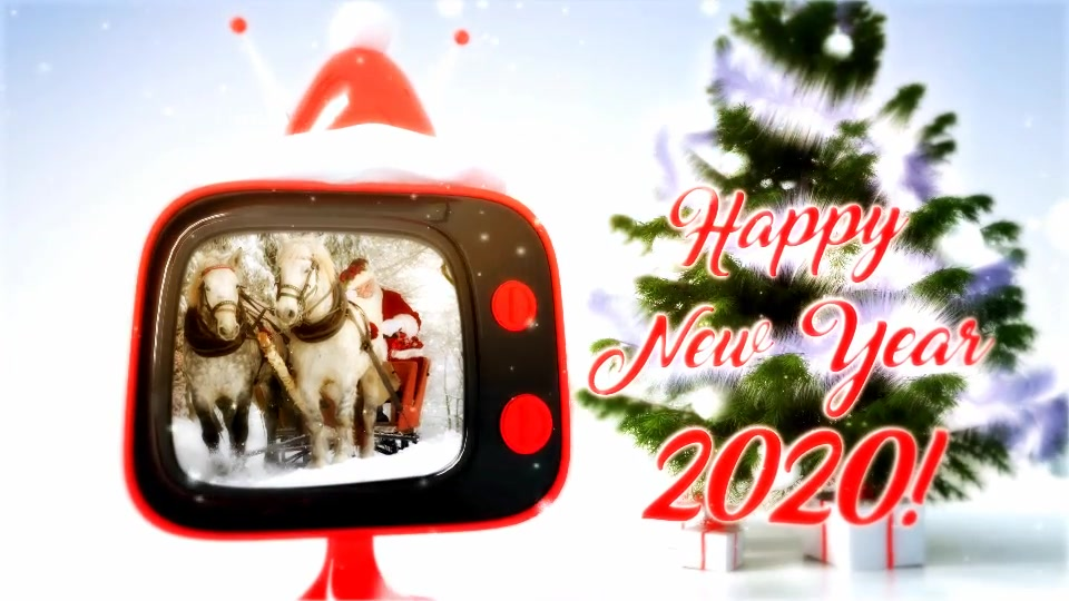 Christmas retro TV Videohive 806774 After Effects Image 9