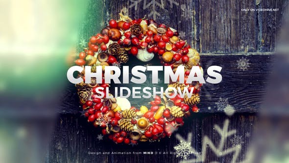 Christmas Slideshow - Videohive 23008275 Download