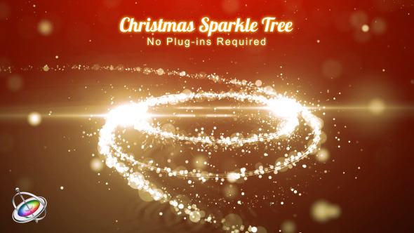 Christmas Sparkle Tree Apple Motion - Download Videohive 9445975