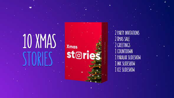 Christmas Stories Kit - Download Videohive 22939458