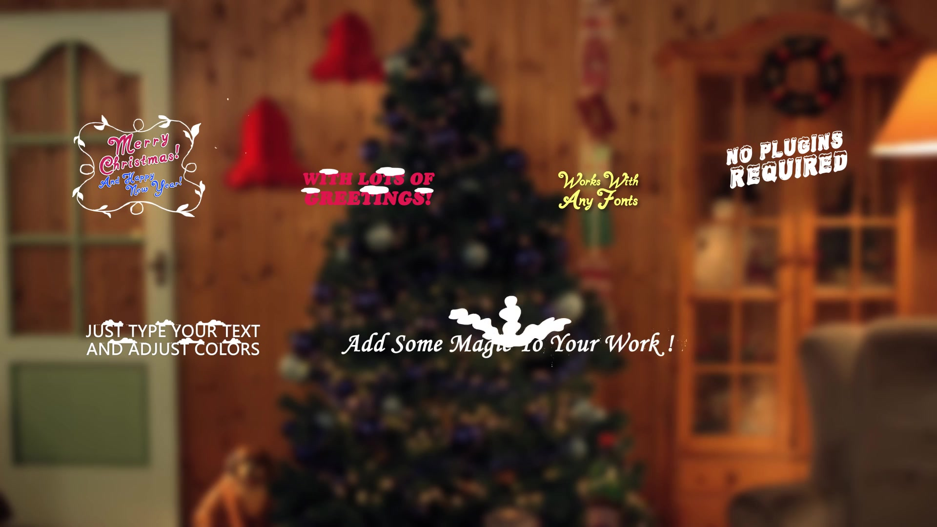 Christmas Titles And Transitions - Download Videohive 22982173