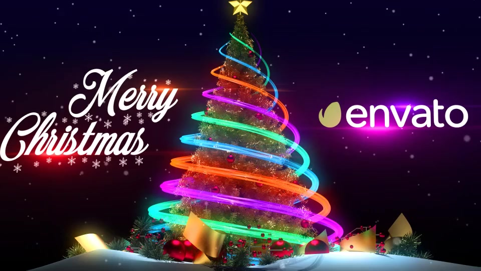 Christmas tree new year greetings download videohive 19041852 m4hsunfo