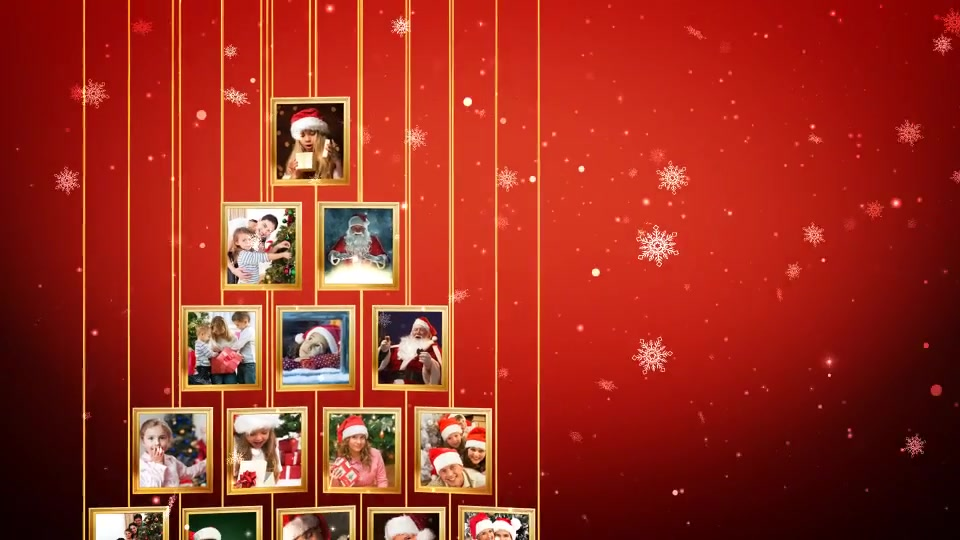 Christmas Tree Photos Opener - Download Videohive 19072882