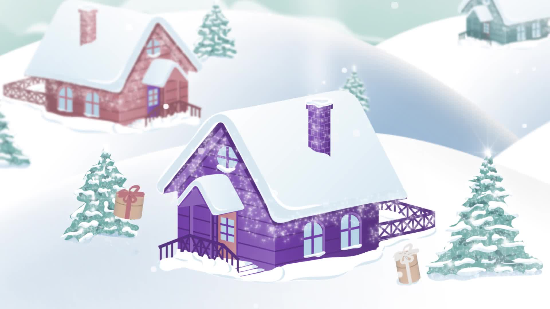 Christmas Village Landscape - Download Videohive 20898385