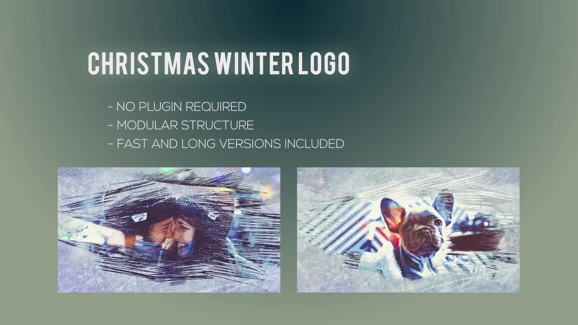 Christmas Winter Logo - Download Videohive 22847584