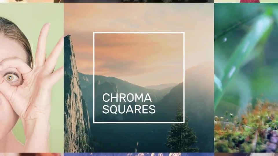 Chroma Squares Dynamic Slideshow - Download Videohive 20362587
