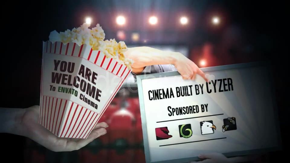 Cinema Movie Commercial Ad Promotion - Download Videohive 4343114