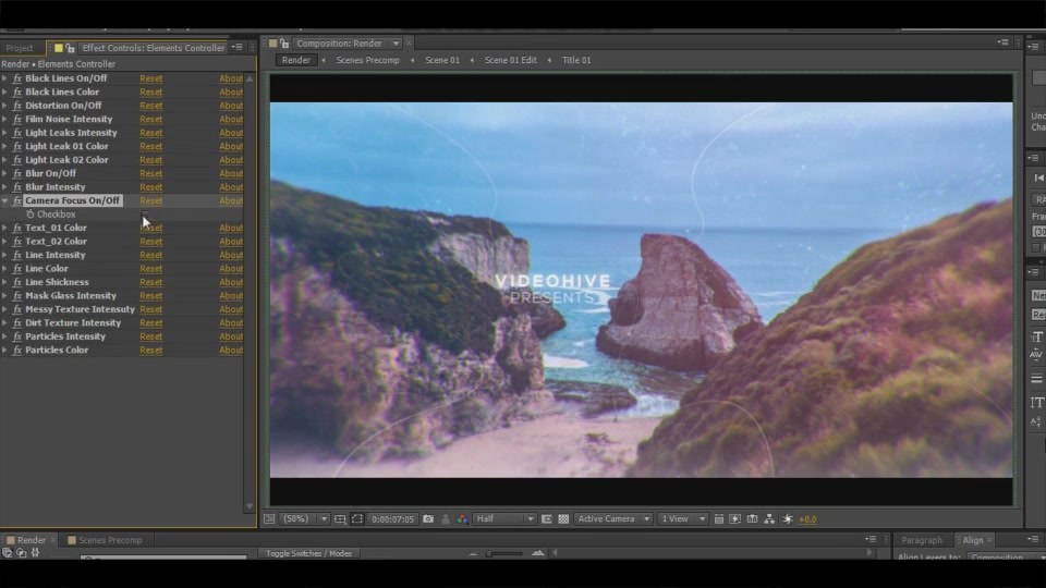 Cinematic Clean Parallax Opener | Slideshow - Download Videohive 19353431
