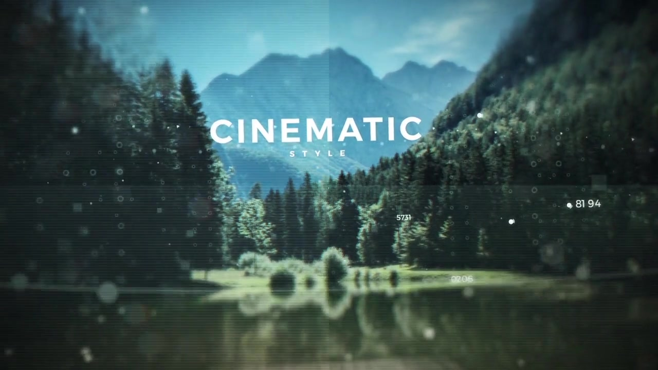 Cinematic Digital Slideshow - Download Videohive 19557197