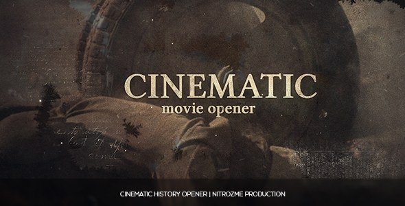 Cinematic History - Download Videohive 16519242