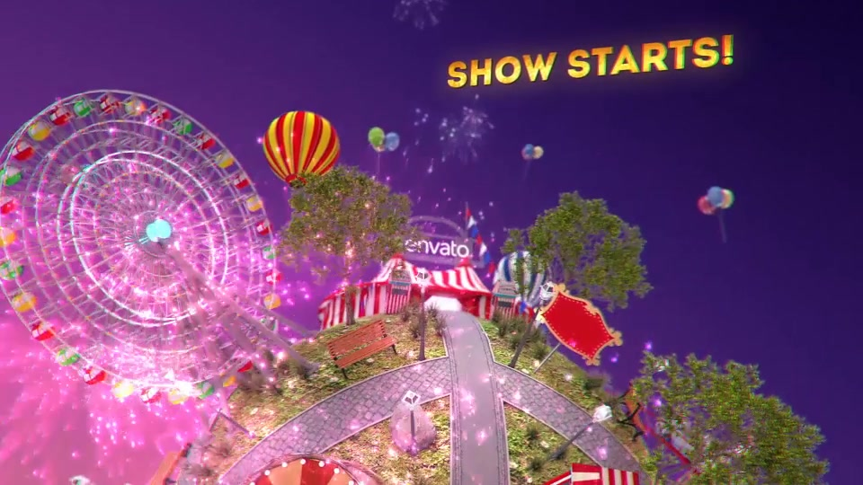 Circus Intro - Download Videohive 16441141