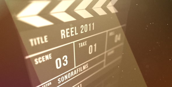 Clapperboard reveal - Download Videohive 236181
