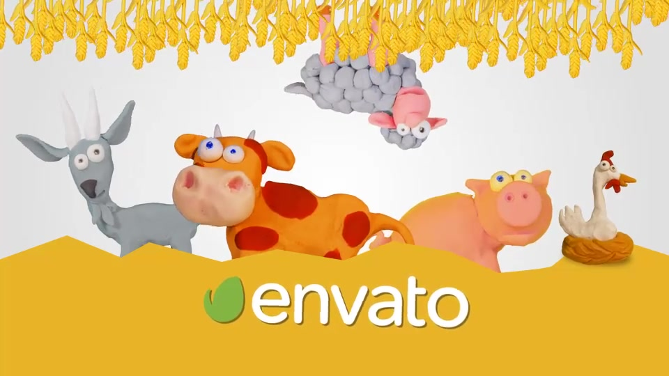 Clay Farm Animals - Download Videohive 15414366