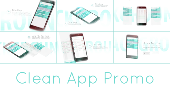 Clean App Promo - Download Videohive 17328108