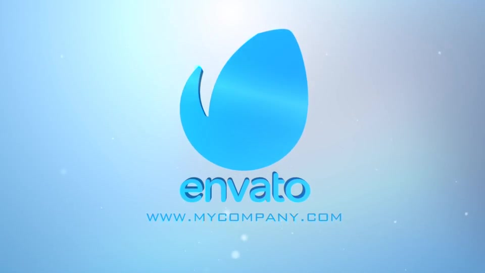 Clean Corporate Typography Logo Apple Motion - Download