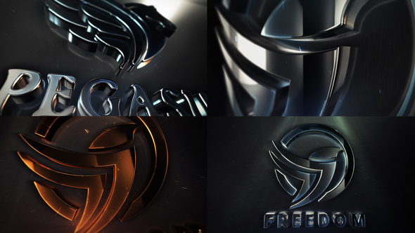 Clean Elegant 3D Logo Reveal - Download Videohive 22105293