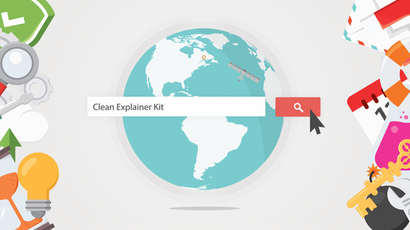 Clean Explainer Kit - Download Videohive 7940255