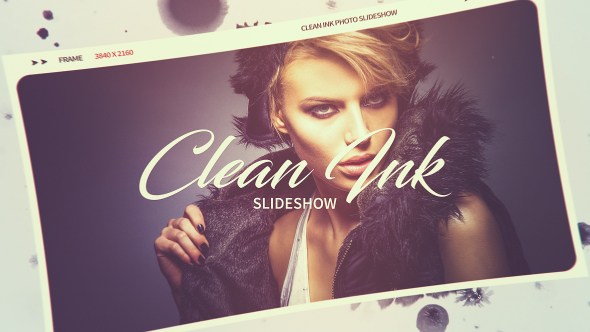 Clean Ink Slideshow - Download Videohive 20960610