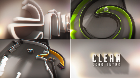 Clean Logo Intro - Download Videohive 20275792