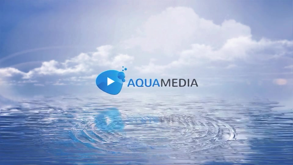 Clean Logo V03 Water Ripples - Download Videohive 8960200