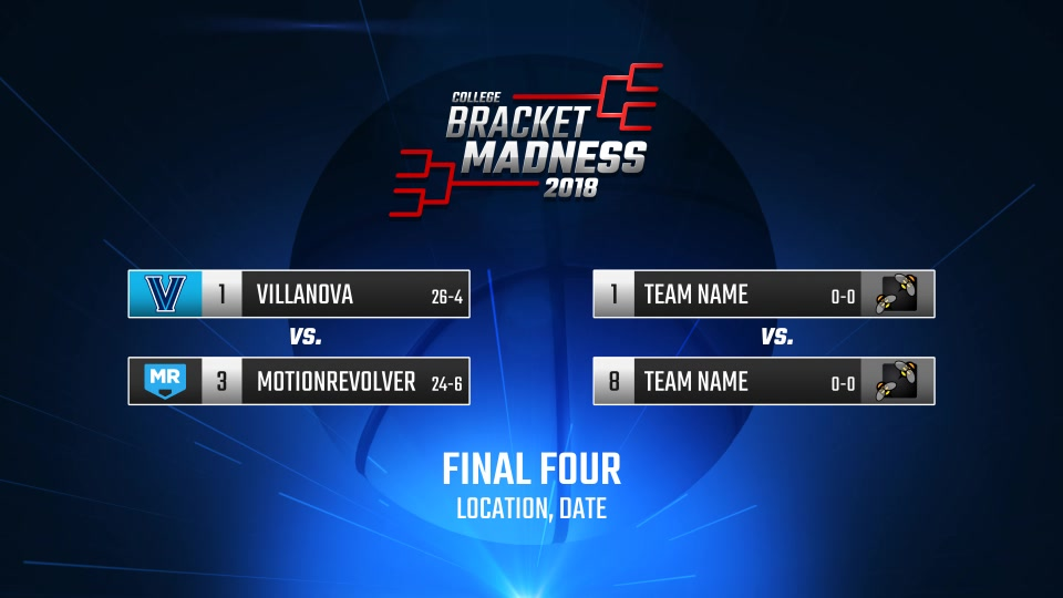 College Basketball Bracket Madness - Download Videohive 19575091