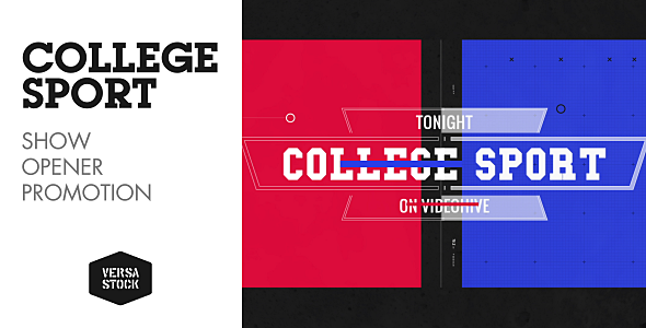 College Sport | Promo - Download Videohive 16913779