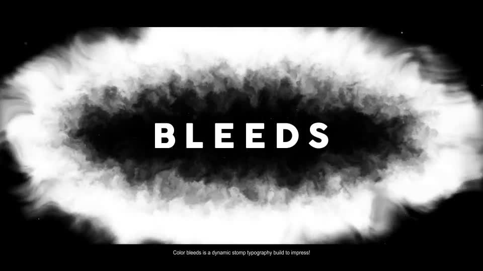 Color Bleeds Dynamic Stomp Typography Videohive 24335901 After Effects Image 1