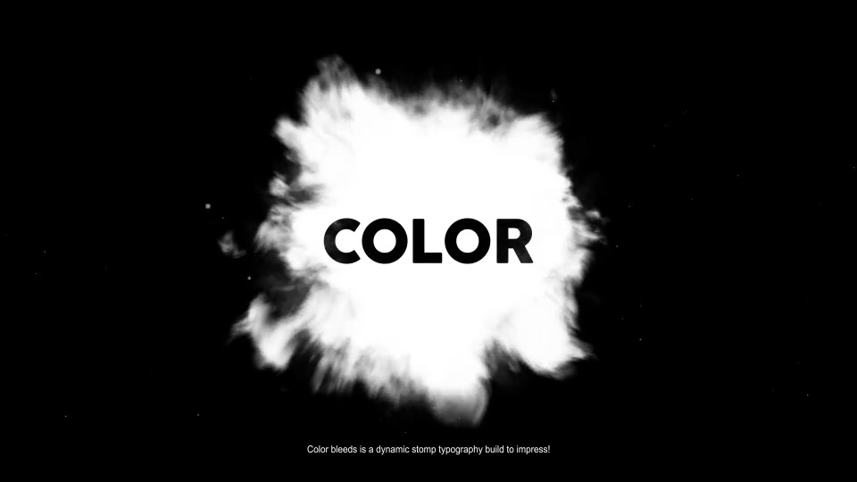 Color Bleeds Dynamic Stomp Typography Videohive 24335901 After Effects Image 5
