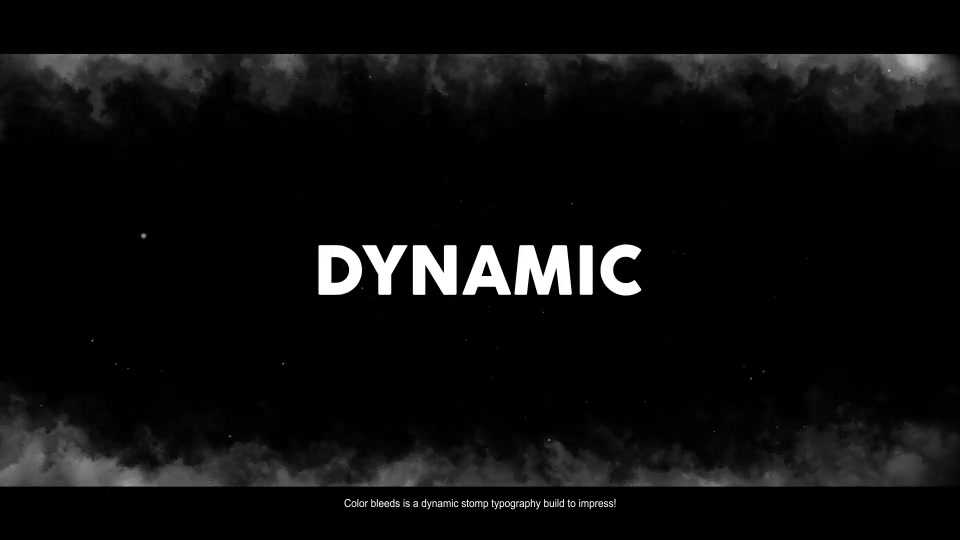 Color Bleeds Dynamic Stomp Typography Videohive 24335901 After Effects Image 8