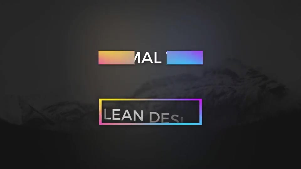 Color full Minimal Titles - Download Videohive 19560540