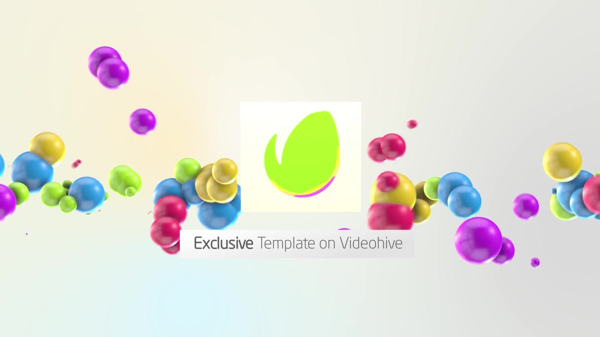 Colorful 3D Balls // Kids logo - Download Videohive 19882847